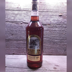 1l tall glass bottle of 100% pure Canadian maple syrup
