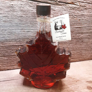 500 ml Maple Leaf Glass Bottle of 100% Pure Canadian Maple Syrup