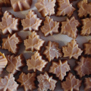 Maple Leaf Sugar Candies