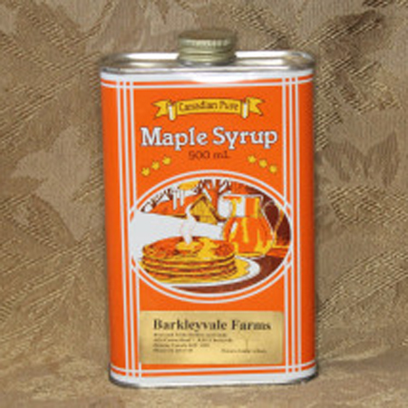500mL Heritage Can of 100% Pure Canadian Maple Syrup