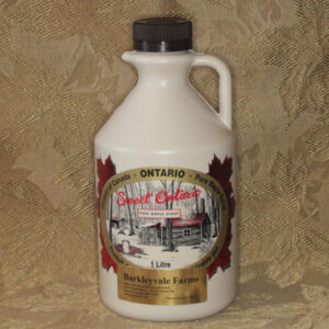 1L Plastic Jug of 100% Pure Canadian Maple Syrup